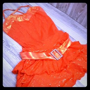 Girls Large dance outfit